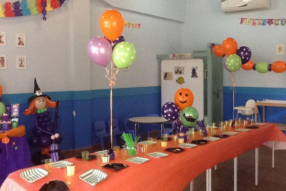 Fiesta Halloween niños