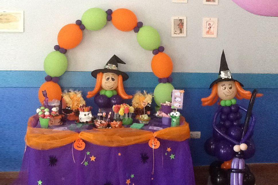 Candy Bar para Halloween