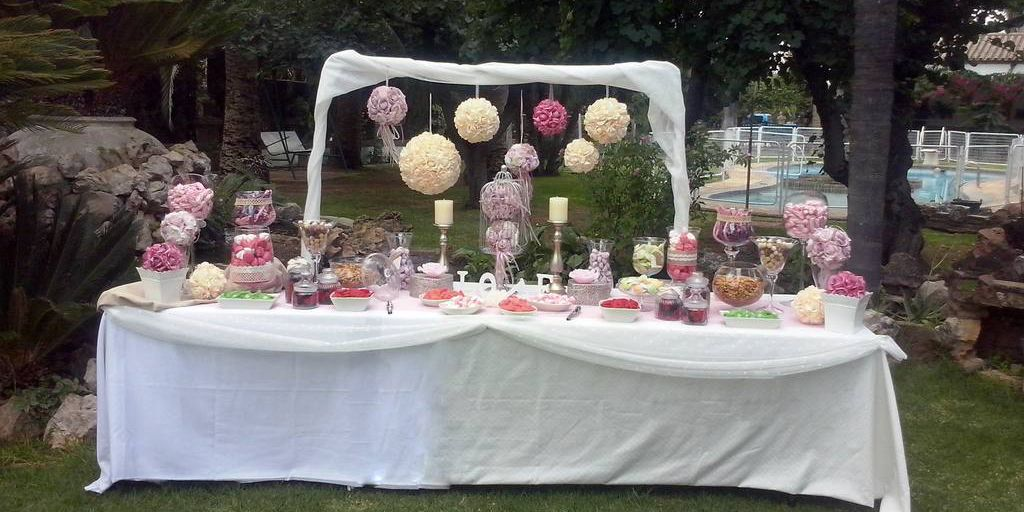 Candy bar personalizada boda