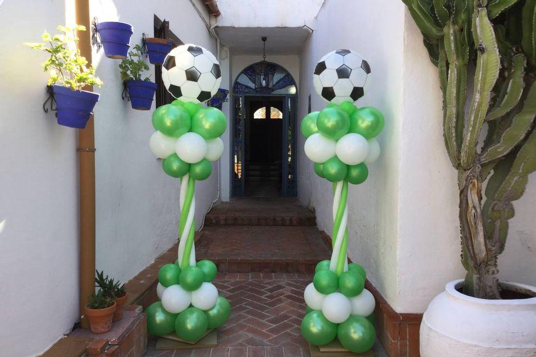 Globos con forma de balón
