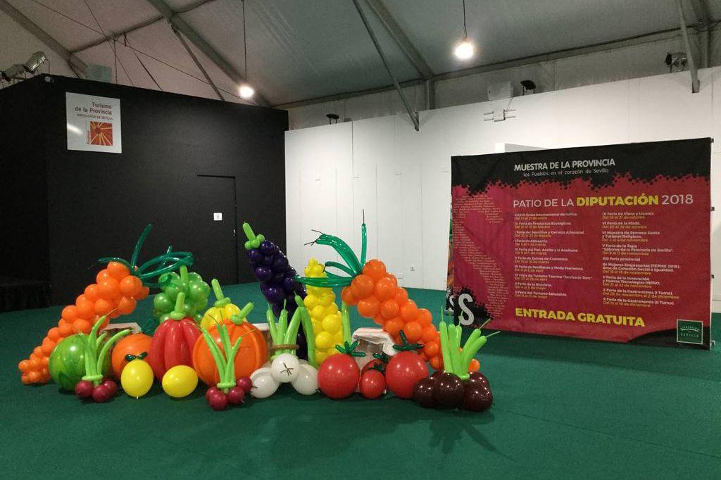 Globos forma fruta