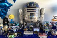 decoracion star wars evento